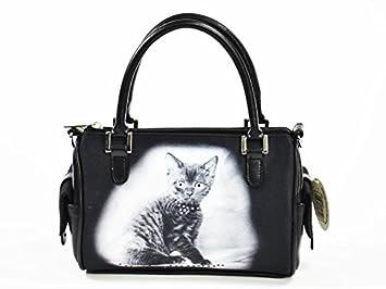 bestpreis Comercio Mario Moreno Mujer, bolso, gato, mujer, SS5: Amazon.es: Jardín
