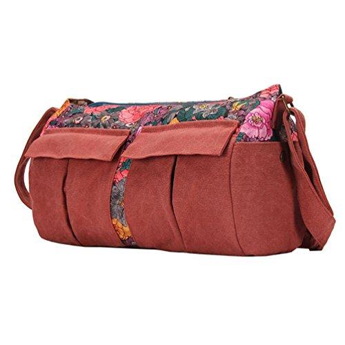 Chang Spent bolsa de viaje de la lona de algodón de moda casual bolsa de mensajero de la marea de las nuevas mujeres , a a