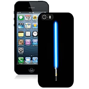 Beautiful Custom Designed Cover Case For iPhone 5s With Lightsaber Star Wars Phone Case WANGJING JINDA