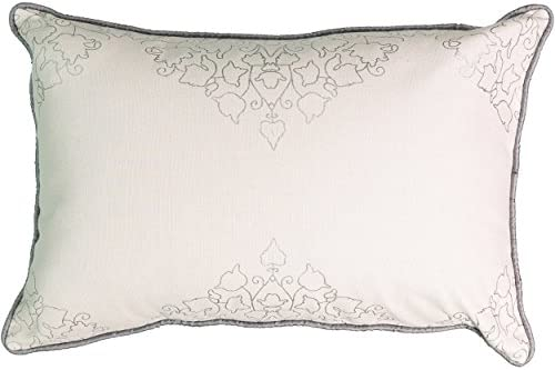 Beautyrest La Salle Foil Decorative Pillow, 12 x 18 , Pumice