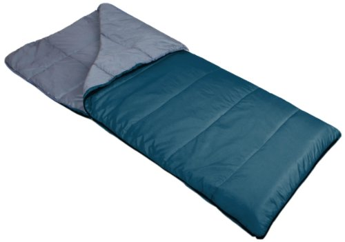 "Suisse Sport Adventurer Series ""Mountaineer"" Ultra Compactable Rectangular 30 Degree Minimum Sleeping Bag, 30-Inch x 75-Inch, Outdoor Stuffs"