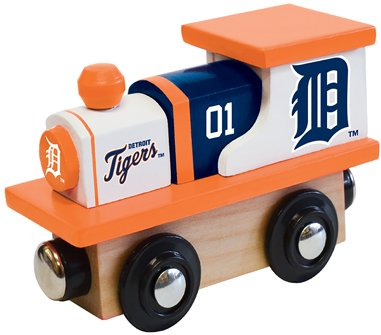 [MasterPieces MLB Detroit Tigers Toy Train] (Detroit Tigers Costume)