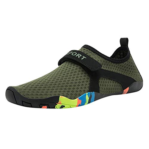 Mens Womens Water Shoes,SMALLE◕‿◕ Barefoot Quick-Dry Aqua Socks for Beach Swimming Diving Surf Yoga Hiking Sport