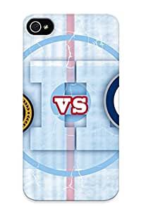Hot WionYsO8949csysH Case Cover Protector For Iphone 4/4s- Ottawa Senators Vs Winnipeg Jets/ Special Gift For Lovers