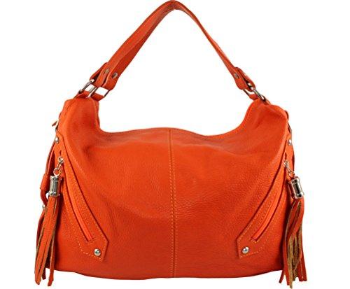 Plusieurs femme Sac chloly fashion sac femme sac Coloris marque cuir sac sac cuir pompy pompy cuir cuir sac Orange à cuir Pompy cuir femme main Clair franche pompy a main Italie SwnSXrUq