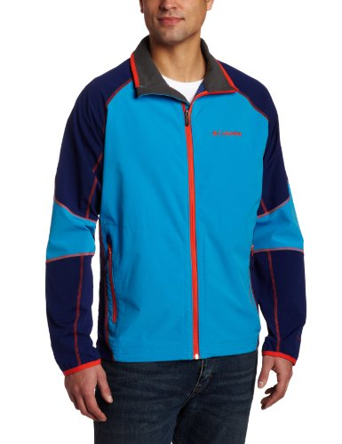 Columbia Men's Sweet As Softshell Jacket (X-Large, Compass Blue)