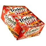 Trident White Cinnamon Tingle Chewing Gum-36 Pack