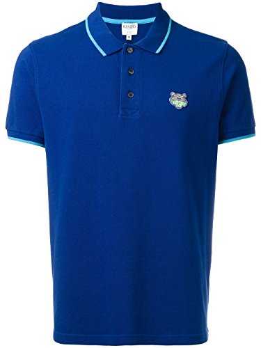 kenzo-mens-f755po0014ba75-blue-cotton-polo-shirt