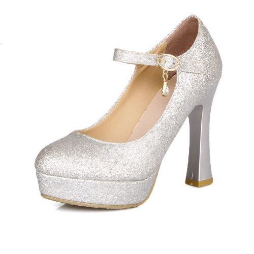 pour pour silver Sandales pour Sandales femme BalaMasa femme BalaMasa silver Sandales BalaMasa UqwOFXO