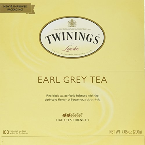 Twinings Tea, Earl Grey, 100 Count