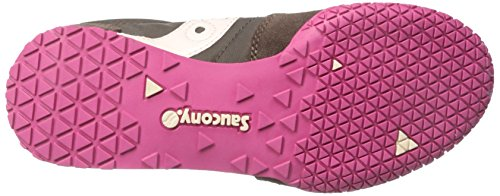 Saucony Originals Damen Kugel Sneaker Braun / Rosa