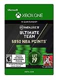 NBA LIVE 19: NBA UT 5850 Points Pack - Xbox One [Digital Code]