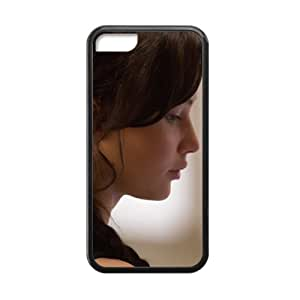 Every New Day The Hunger Games Katniss Everdeen Jennifer Lawrence Unique Custom iphone 4/4s iphone 4/4s Best Polymer+ Rubber 3D Cover Case