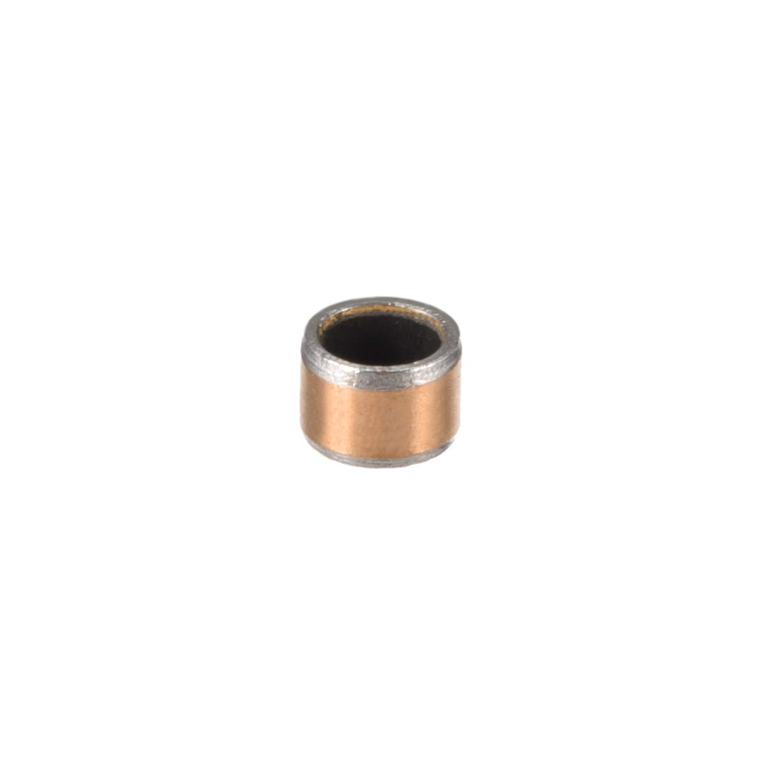 Pack of 1 uxcell/® Sleeve Bearing 3mm Bore x 5mm OD x 5mm Length Plain Bearings Wrapped Oilless Bushings