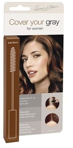 """""""Irene Gari"""" Instant Touch Up To Cover Your Gray Brush In Hair Mascara (Dark Brown) 0.25 Oz China"""