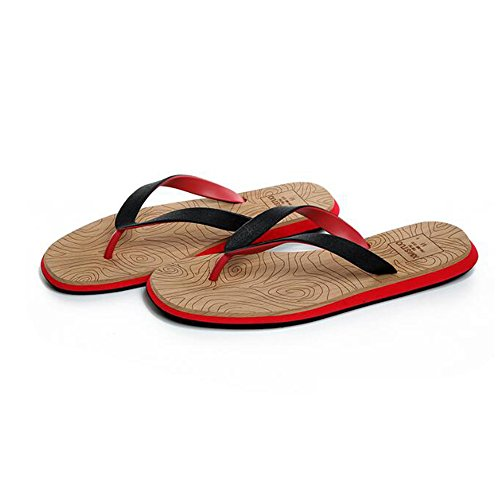 The Slipper Company Summer Male Slippers Non-Slip Leisure Beach Shoes Simple Wear-Resistant Sandals 3 SXHii