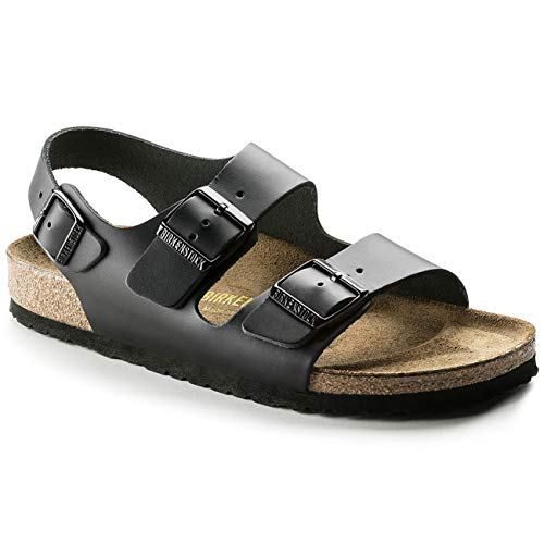 - Birkenstock Mens Milano Black Synthetic Sandals 44 EU