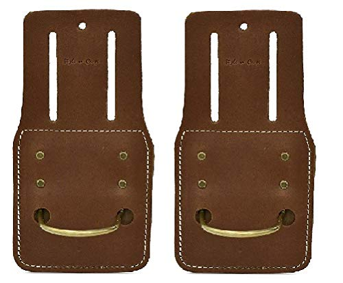 Style N Craft 98-438 Hammer/Hatchet Holder in Heavy Top Grain Leather (2 Pack)