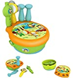 Smoby Toys, 211125, Cotoons Tambour Orchestra, 3 Instruments