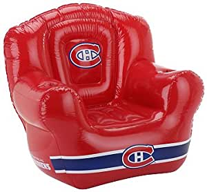 Amazon.com : NHL Montreal Canadiens Inflatable Chair ...