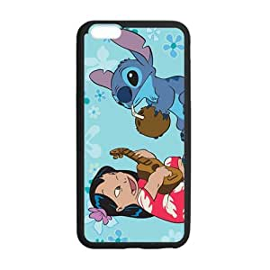 SKCASE Cover Case for iPhone 6 Plus 5.5 inch Cartoon Lilo and Stitch