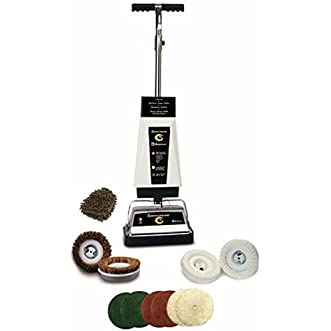 Koblenz P-2600 Commercial Floor and Carpet Shampoo / Polisher (Complete Set) w/ Bonus: Premium Microfiber Cleaner Bundle