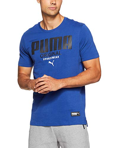 Athletics Homme shirt Blue Puma Sodalite T Tee T zFWOX14q1d