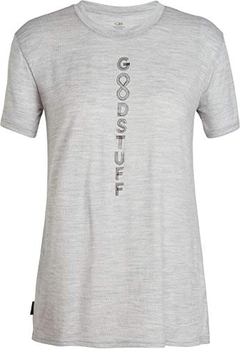 Icebreaker 150 Tech Lite Crewe Good Stuff Shirt damen - Merino T-Shirt