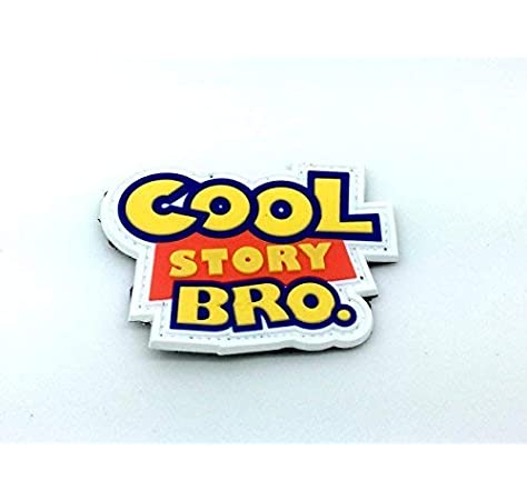Cool Story Bro PVC Airsoft Parche: Amazon.es: Deportes y aire libre