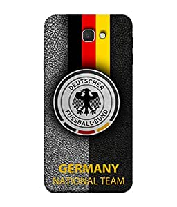 ColorKing Football Germany 17 Black shell case cover for Samsung Galaxy J7 Prime