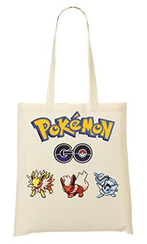 Team Mystic Artwork Pokemon Go Bolso De Mano Bolsa De La Compra