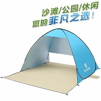 ZHUDJ Beach Shading Tent, Automatic Outdoor Quick Open, Sun Protection  Fishing Tent, Single Double Tent,Lake Blue  Amazon.co.uk  Sports   Outdoors b6c5e047feb0