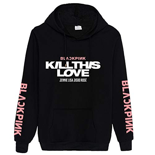 Kpop Blackpink Hoodie New Album Kill This Love Sweater Lisa Jennie Jisoo Rose Sweatshirt