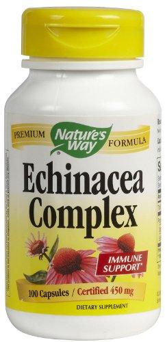 - Natures Way, Echinacea Root Complex, 100 Capsules