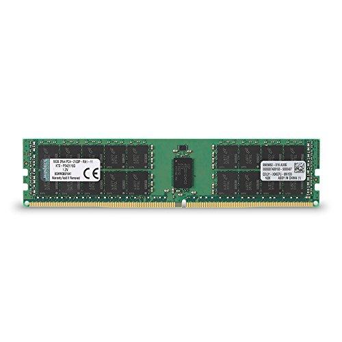Kingston Technology 16GB DDR4 2133MHz Reg ECC Workstation Memory for Select Dell Desktops KTD-PE421/16G