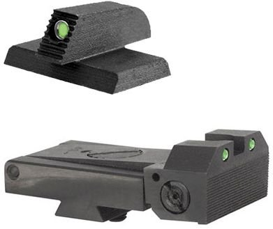 Kensight Kimber Adjustable 1911 Sight Set Trijicon Tritium insert - Night Sights - matching Front by Kensight