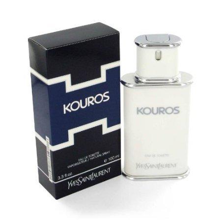 Yves Saint Laurent Kouros By Yves Saint Laurent Gift Set -- 3.3 Oz Eau De Toilette Spray + 3.3 Oz Body Wash For Men - Kouros Body Wash