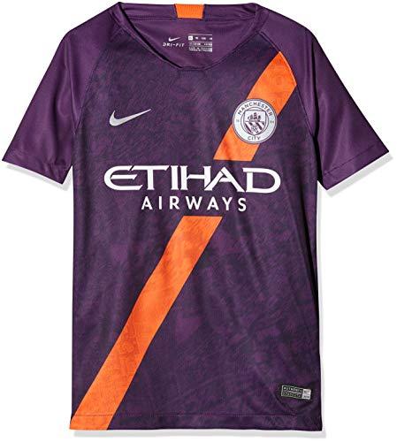 Nike 2018-2019 Man City Third Football Shirt (Kids)