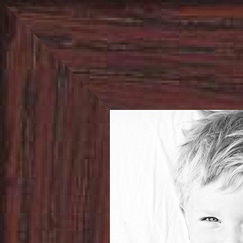 ピクチャーフレームホワイトステイン仕上げレッドオーク 幅 0.625インチ 15 x 36