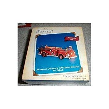 Hallmark Keepsake Ornament Fire Brigade American Lafrance 700 Series Pumper 2004