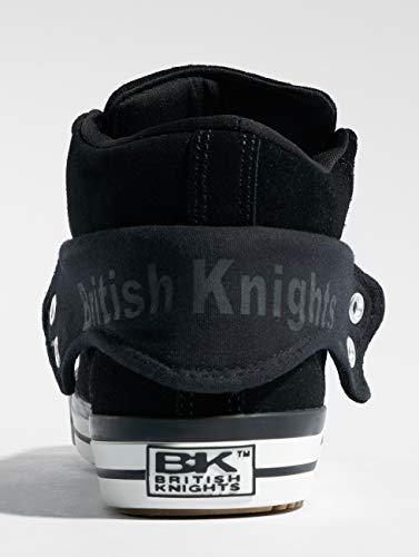 02 Baskets Noir British Black Homme Knights Hautes Roco pExwZ0q6