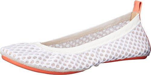 Women's Croco White Samara Flats Frosted Samra Yosi 7nw4q5zfz