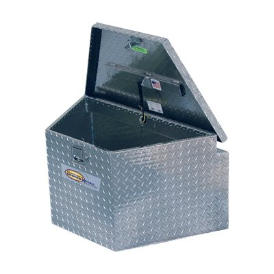 Northern Industrial Aluminum Trailer Tongue Box - 34in., Tall by Northern Industrial