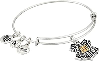 Alex and Ani Womens Harry Potter Hogwarts Two-Tone Bangle by Alex and Ani