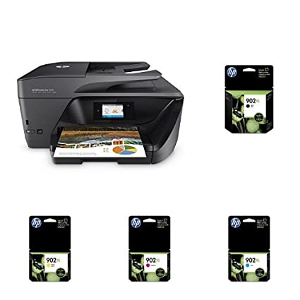 HP OfficeJet Pro 6978 Wireless All-in-One Photo Printer with XL Ink Bundle