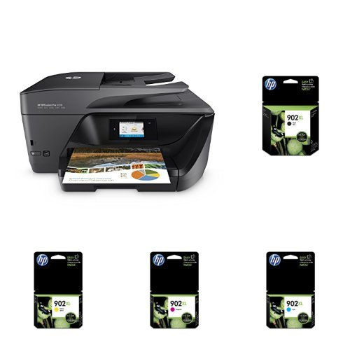 HP OfficeJet Pro 6978 Wireless All-in-One Photo Printer with XL Ink Bundle by HP (Image #1)