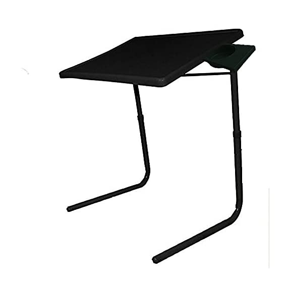 Sunshine Strong Table Mate Multi Utility Table Mate Multi Purpose Portable and Adjustable Table Mate with Cup Holder