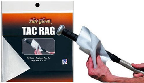 New Baseball/Softball bat Tac Rag Natural Bees Wax (Alternative to Pine Tar) by Authentic Hot Glove Sports Shop