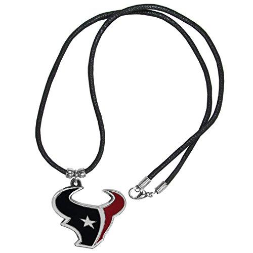 Siskiyou NFL Houston Texans Cord Necklace, - Pendant Texans Houston