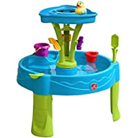 Step2 Summer Showers Splash Tower Water Table, Blue